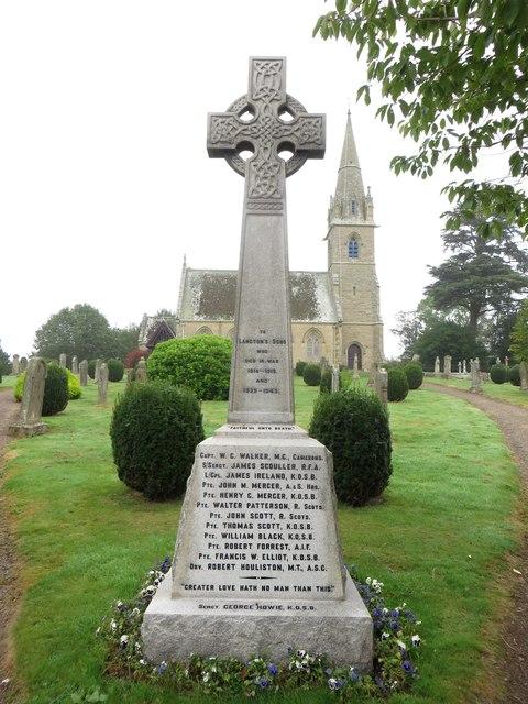 Gavinton War Memorial