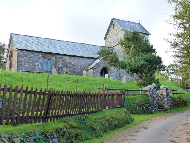Stoke Pero church, Exmoor, Somerset