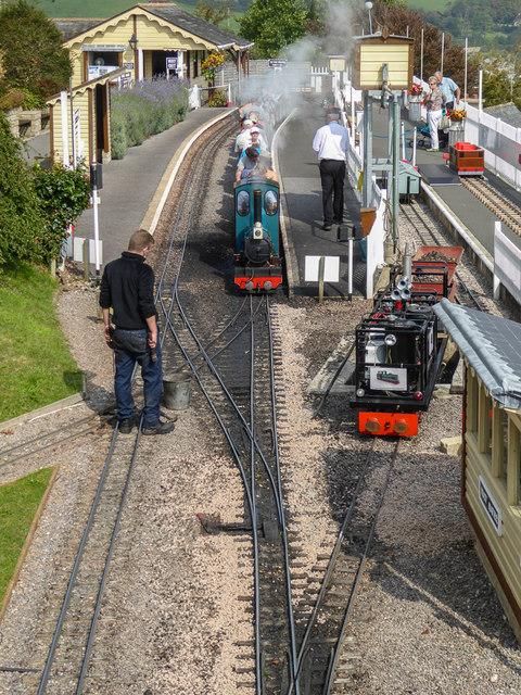 Station, Pecorama, Beer, Devon