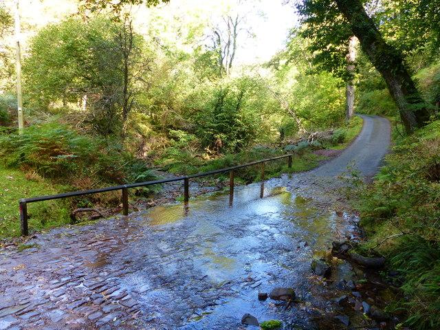 Ford near Cloutsham, Exmoor