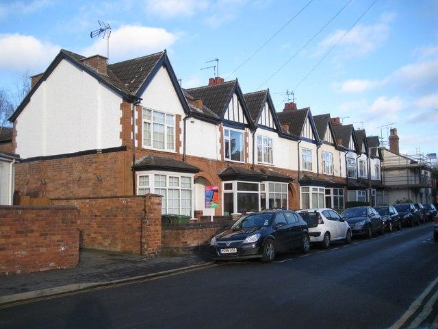 Terraced houses, Paradise Street, Warwick