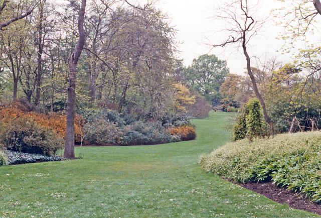 Kew Gardens in springtime