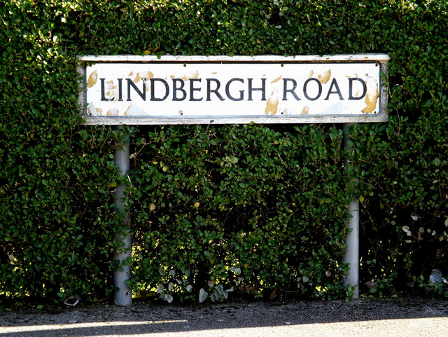 Lindbergh Road sign