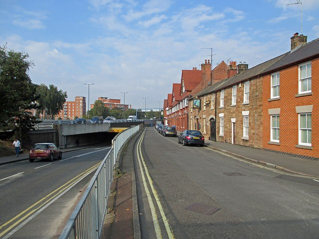 Nottingham Road old and new