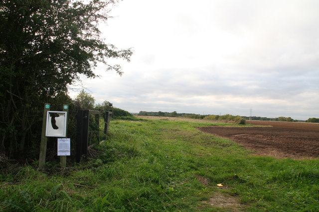 Permissive Access to fields west of Grasby Road