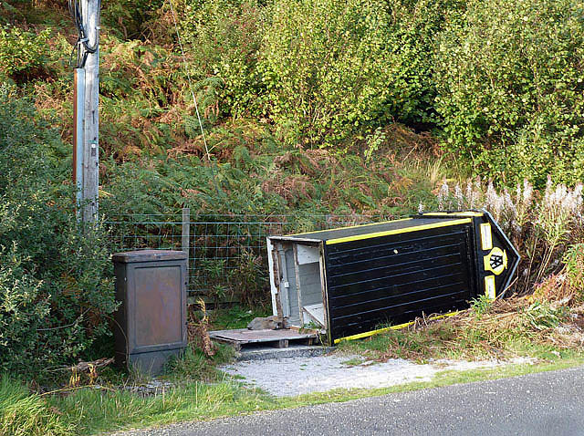 What's happened to the AA Box at Cappercleuch?
