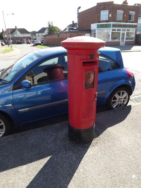 55 Lindbergh Road George VI Postbox