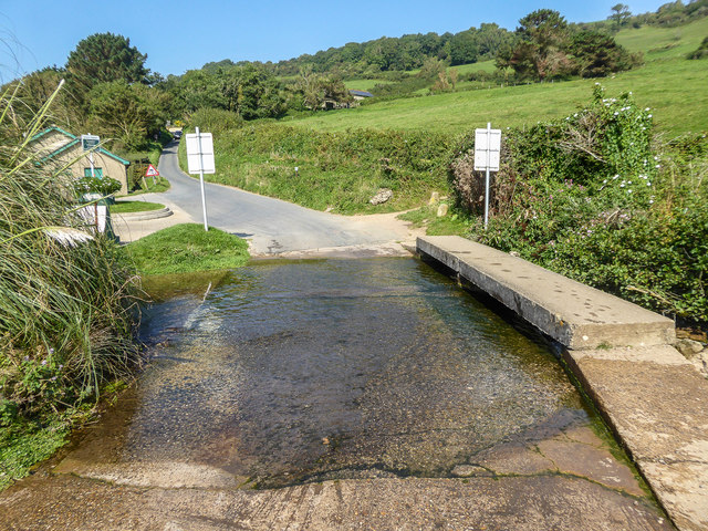 Ford and Bridge, Branscombe Mouth, Branscombe, Devon