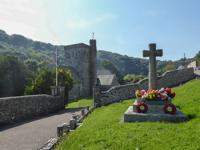 War Memorial, Branscombe, Devon