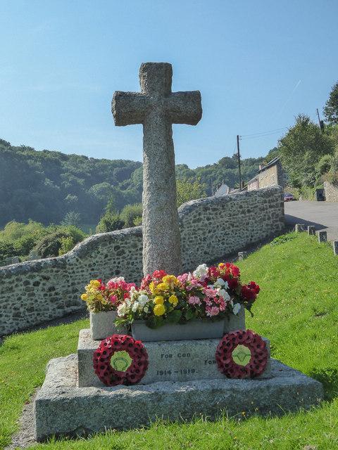 War Memorial, Branscombe, Devon