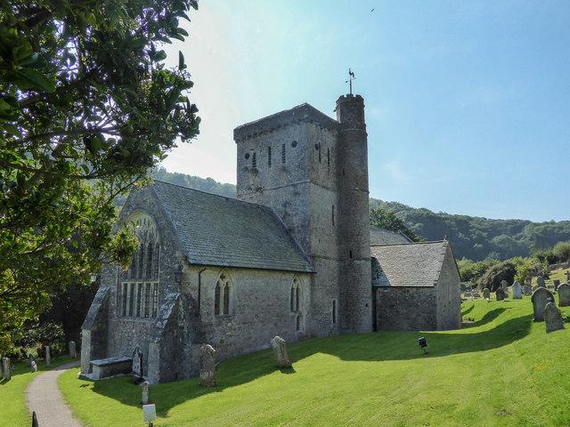 St Winifred's Church, Branscombe, Devon