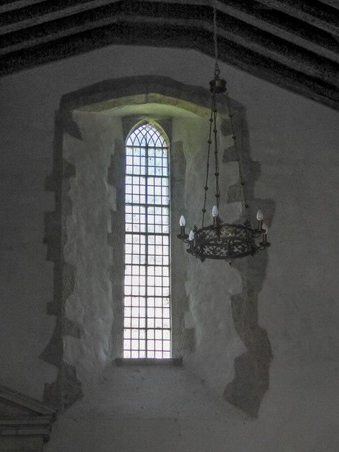 Window, St Winifred's Church, Branscombe, Devon