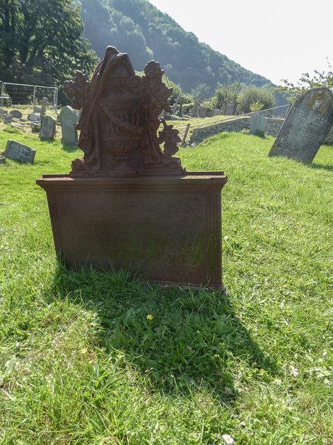 Iron Grave Marker, St Winifred's Church, Branscombe, Devon