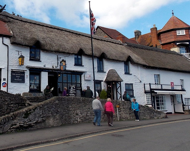 The Rising Sun in Lynmouth