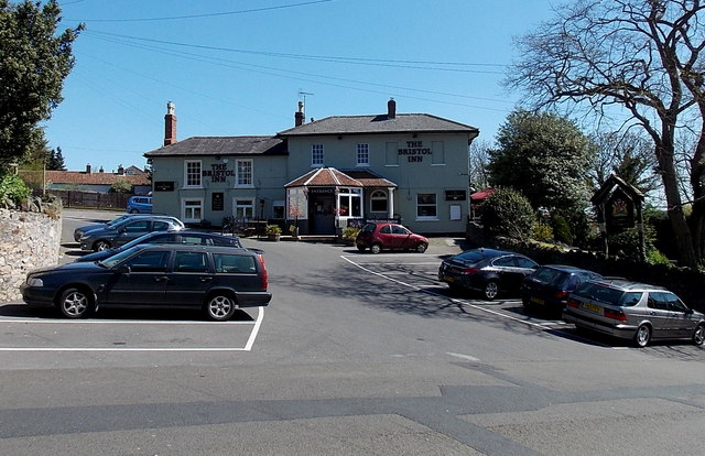 The Bristol Inn car park, Clevedon
