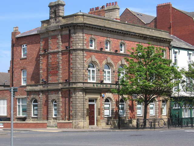 Hartlepool - solicitors' offices on Church Street