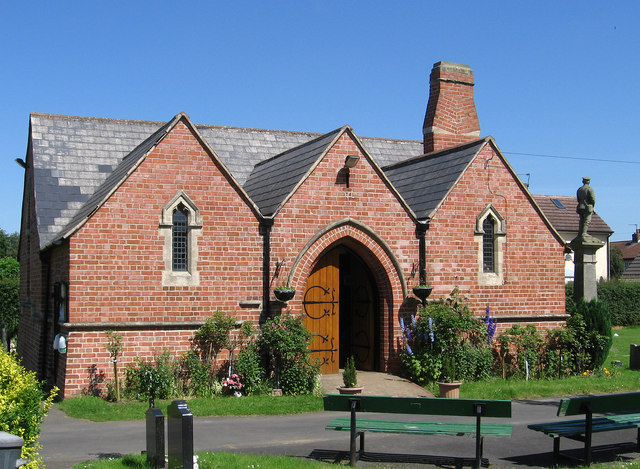 Stainforth - Cemetery chapel