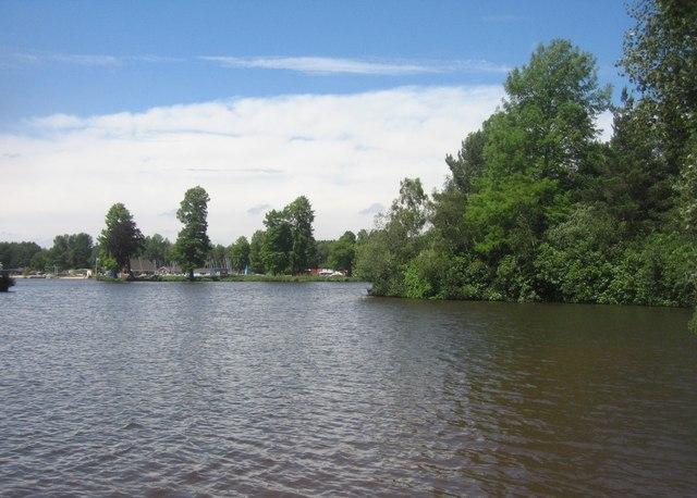 View across Hawley Lake
