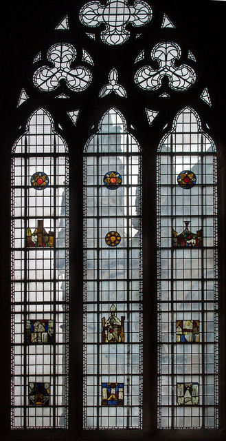 Stained glass window, Chapter House, Southwell Minster
