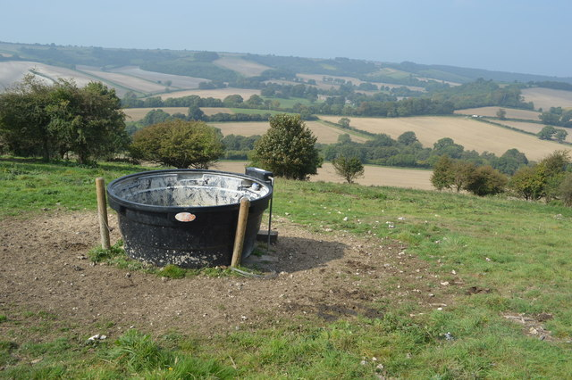 Water trough on Giant Hill