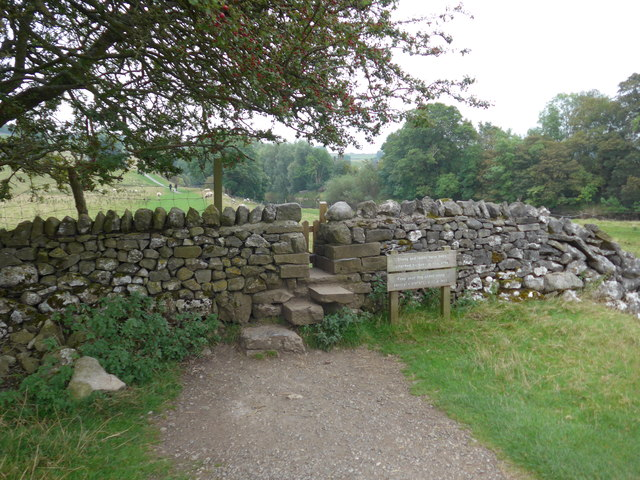 Dales Way trek from Bolton Abbey to Pinder Stile (154)