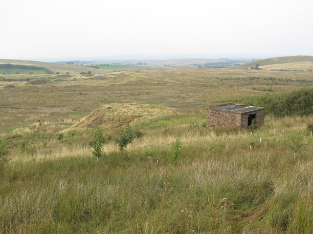 Disused mine southeast of Howgill