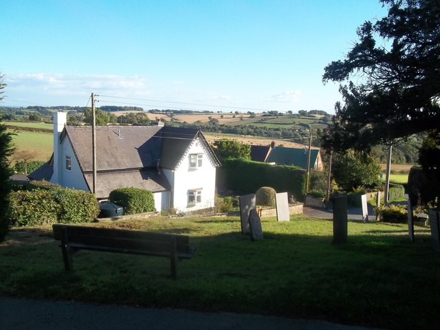 View from Mugginton Church