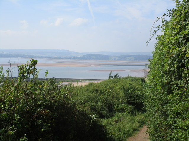 View across the mouth of the River Exe