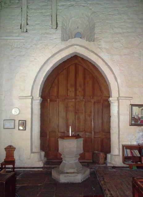 Saxon Window in Mugginton Church