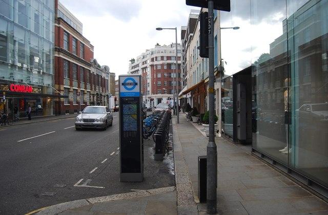 Cycle hire, Sloane Avenue
