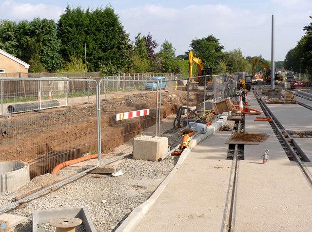 Bramcote Lane tram stop