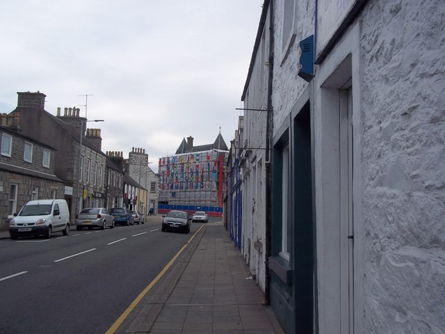 Commonwealth scaffolding on Albert Street