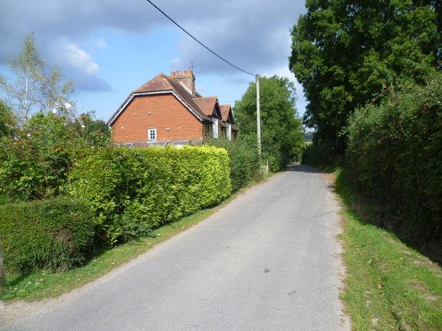 Lane near Scollops Farm