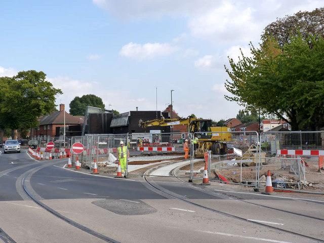 Abbey Bridge/Gregory Street junction