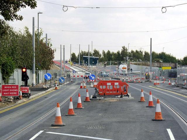 Lenton Lane at Willow Road