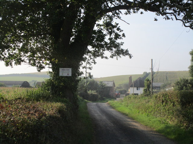 Lane to Green Farm