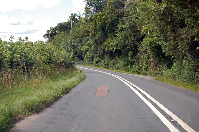 A417 towards Ledbury