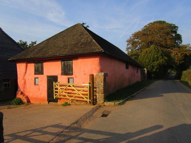 Farm buildings, Prattshayes Farm