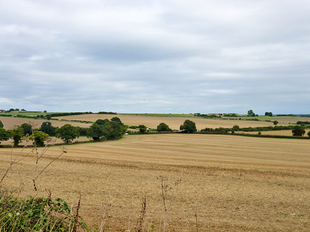 View north-east from Gaston Lane