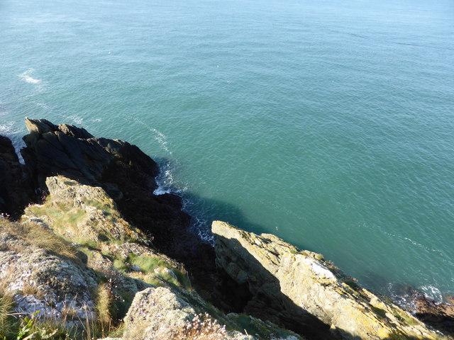 The Torllwyn cliff