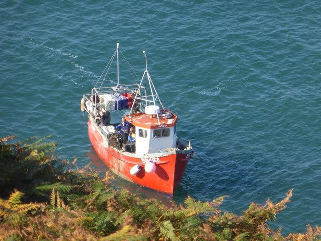 Inshore fishing boat