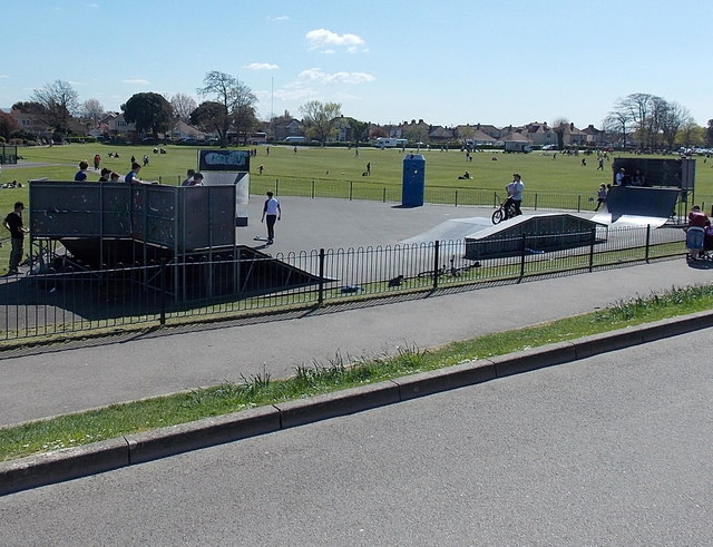 Skate and Wheel Park, Salthouse Fields, Clevedon