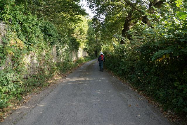 Wales  Coast Path towards Llwyn Onn