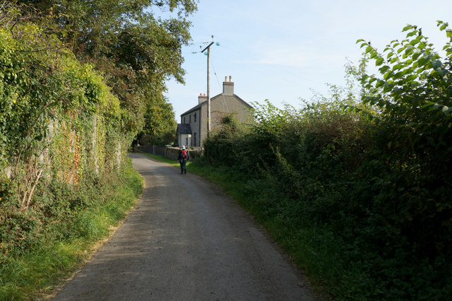 Wales  Coast Path towards Aber Ogwen