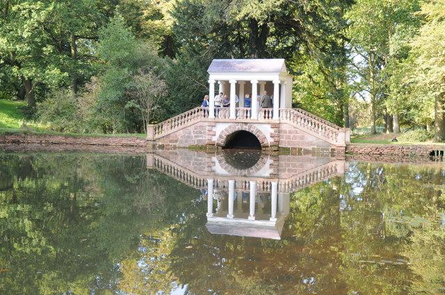 Palladian Bridge, Hagley Park