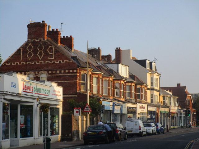 Shops on Exeter Road