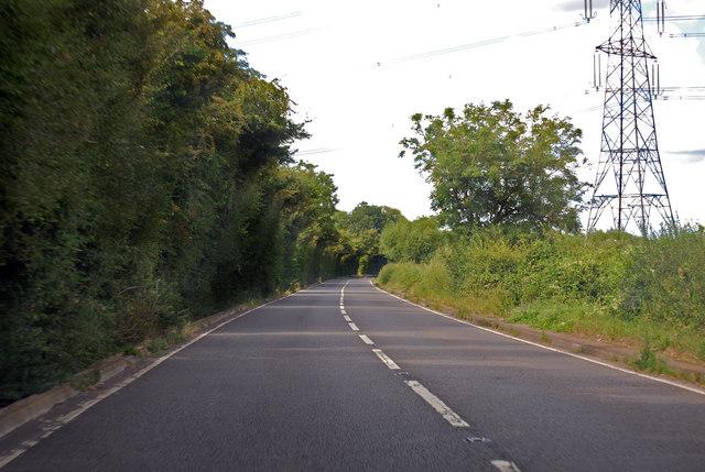 A417 towards Maisemoore