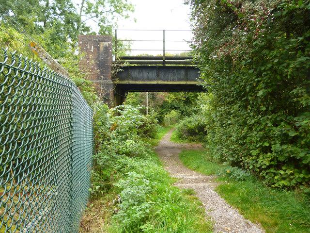 Bridleway under the railway