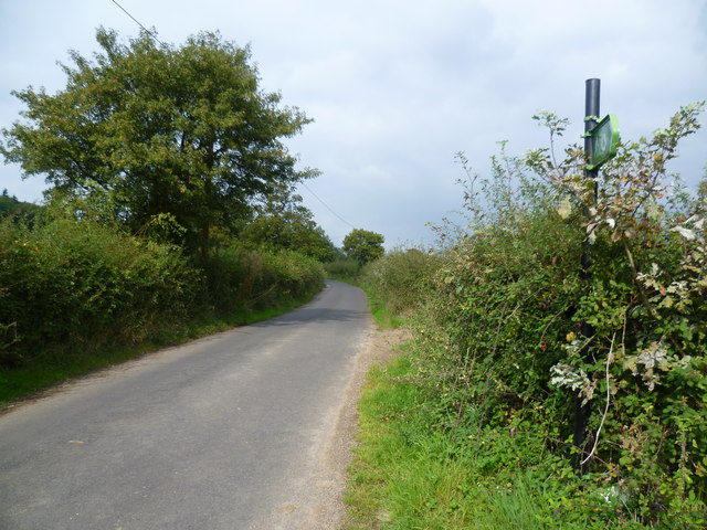 The Greensand Way at Bayley's Hill