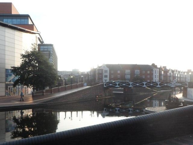 "Birmingham Canal from ""The Malt House"""